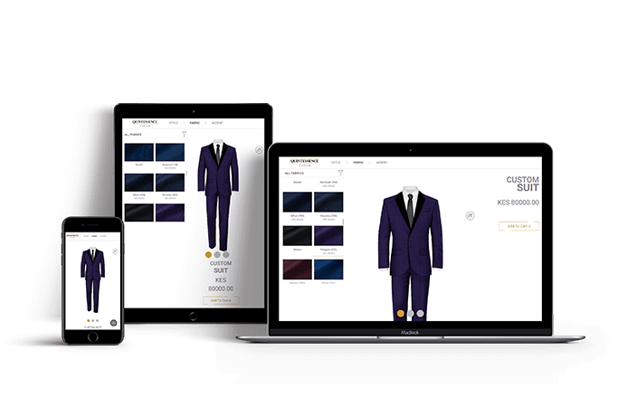 Tuxedo Customization software