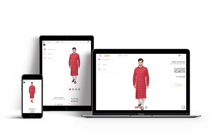 Kurta Customization software
