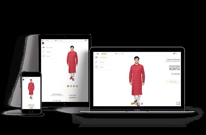Kurta Customization software