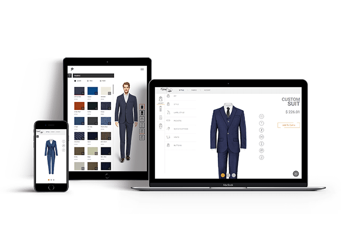 Suit Customization software