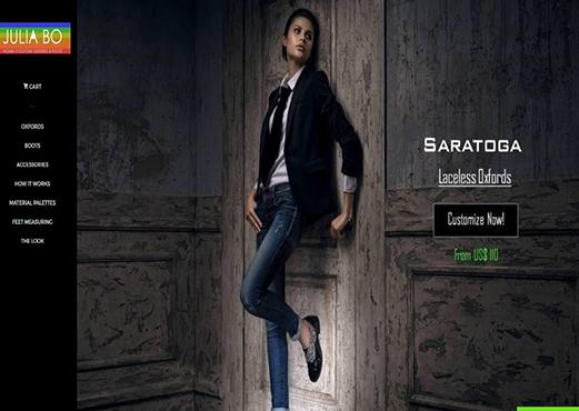 Women Shoe Customization Tool