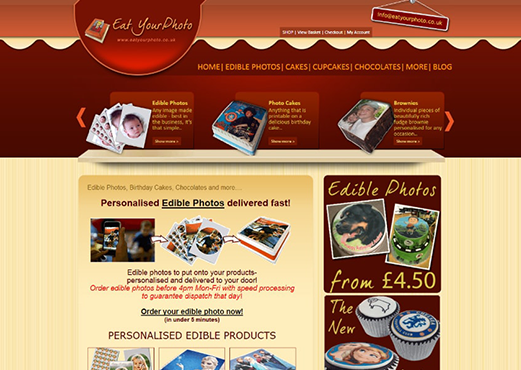 Online Cake Customization Tool