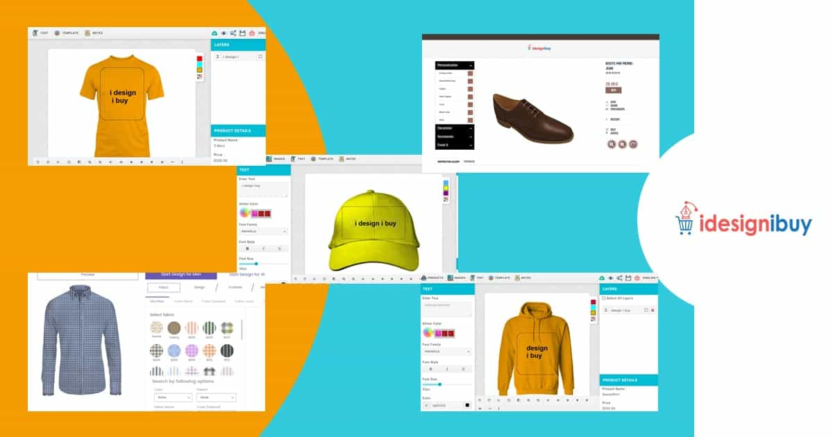 Broaden your e-commerce business by implementing various product designing tools