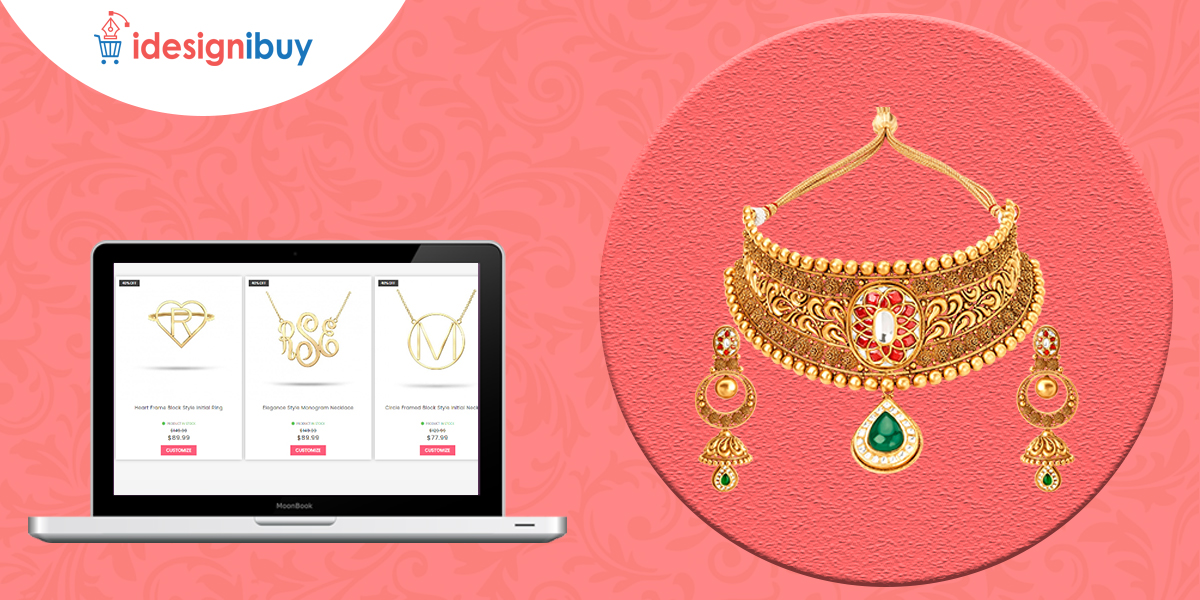 Delight your customers by offering personalised jewelry using our jewelry design tool