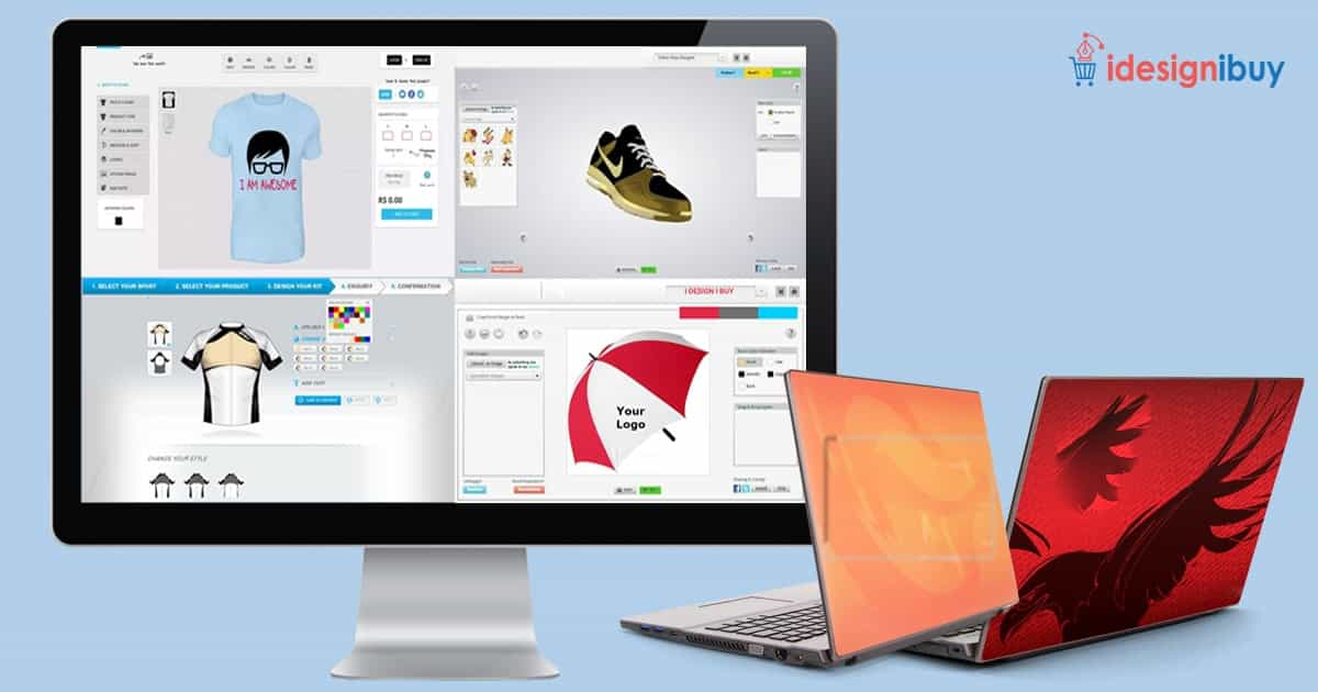 Set yourself apart and boost your business with online product designer tools