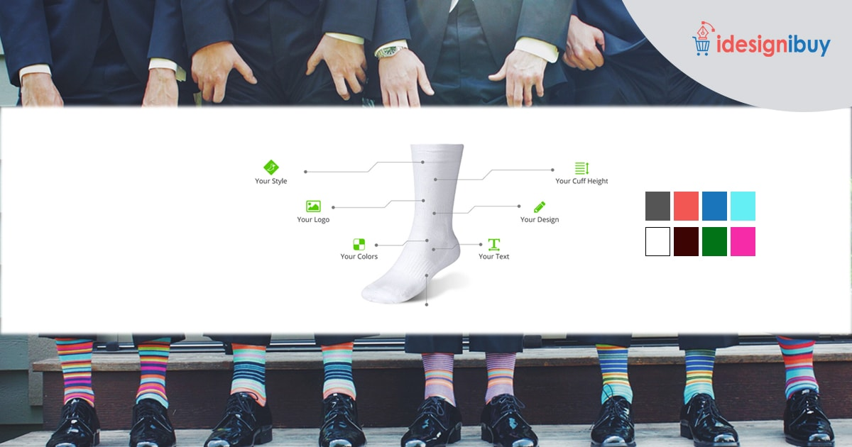Custom socks design tool - the easiest way to create and customize socks online