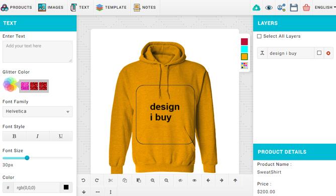 Hoodie Design Tool