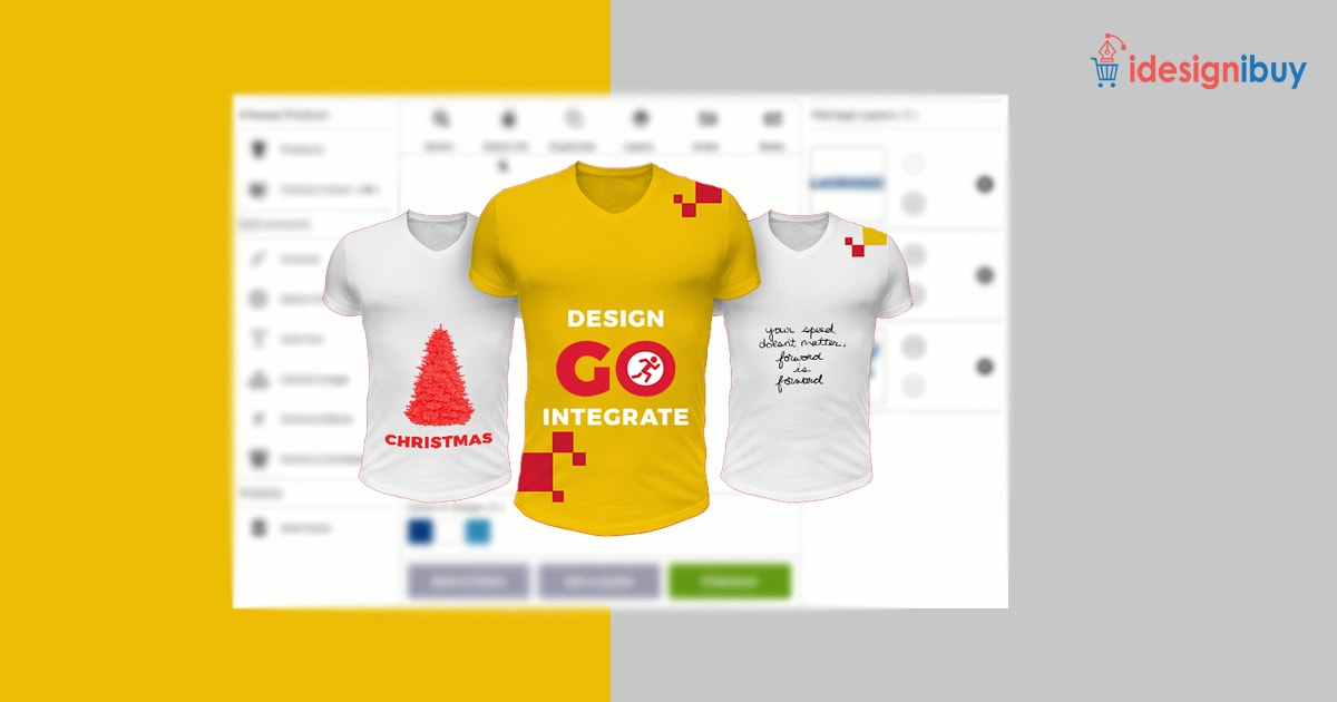 Establish your online store with a T-shirt designer tool