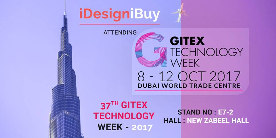 iDesigniBuy is Participating in 37th GITEX Technology Week 2017