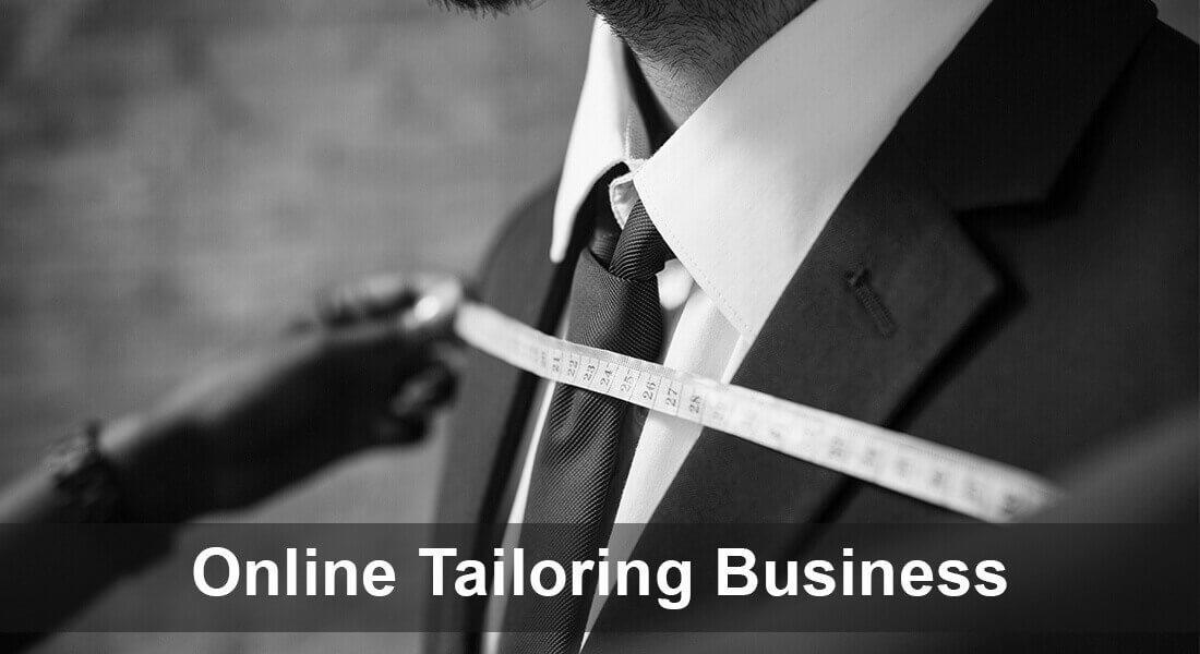 How to start an online tailoring business with low-cost investment?