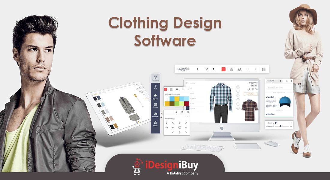 Custom Clothing Design Software for Women Apparel Stores