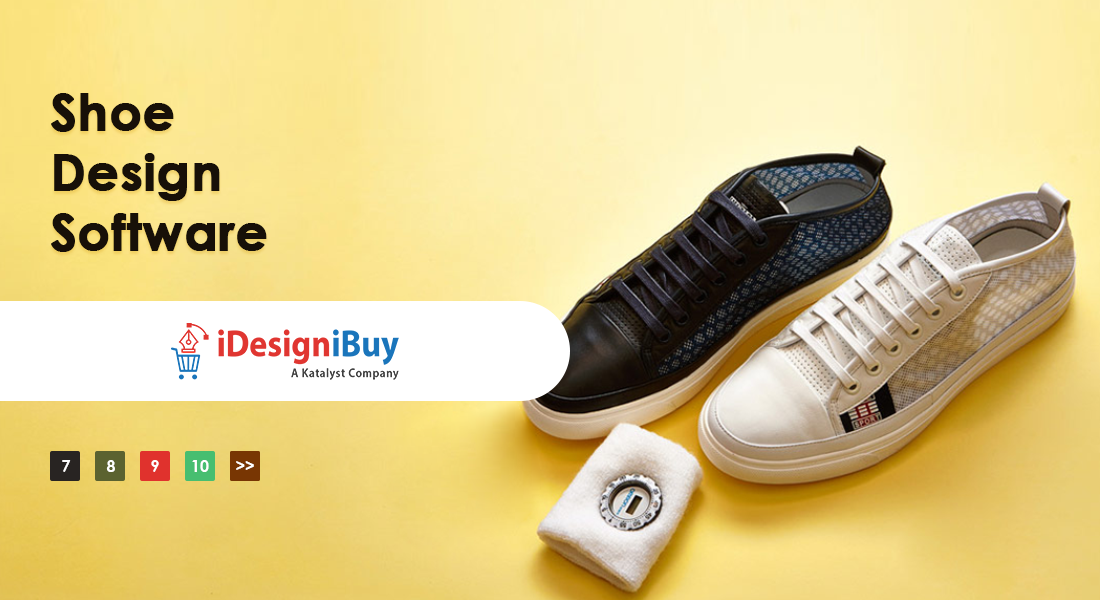 Start offering customize shoes with customer-centric shoe design software