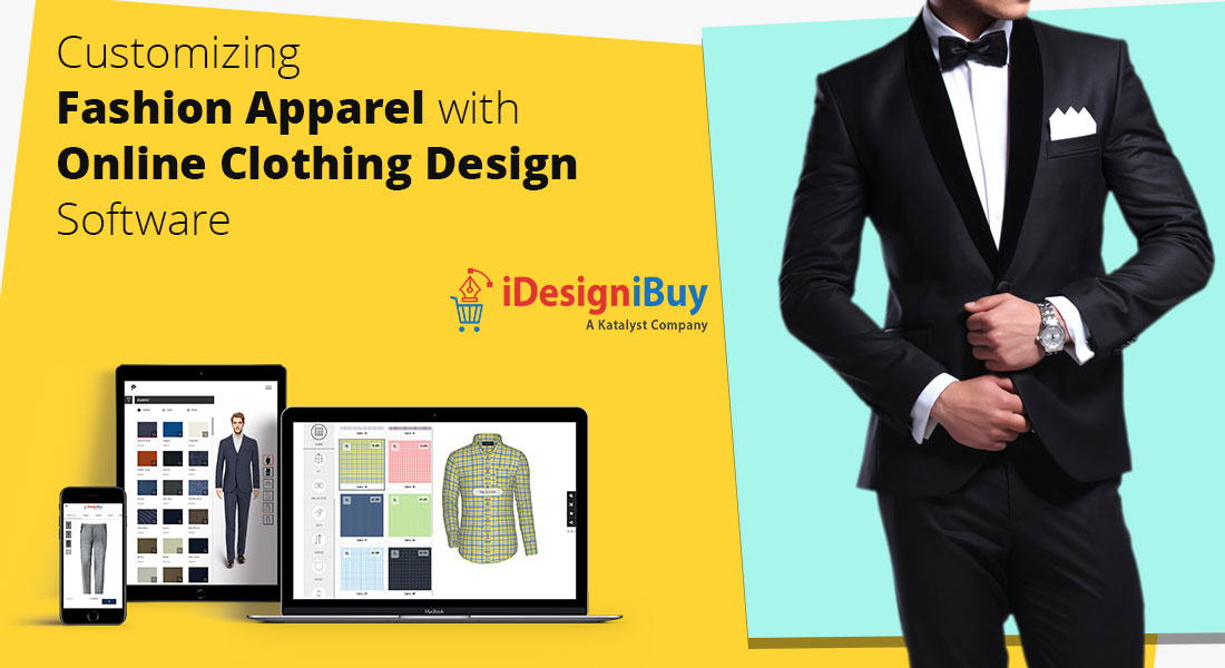 Customizing fashion apparel with online clothing design software