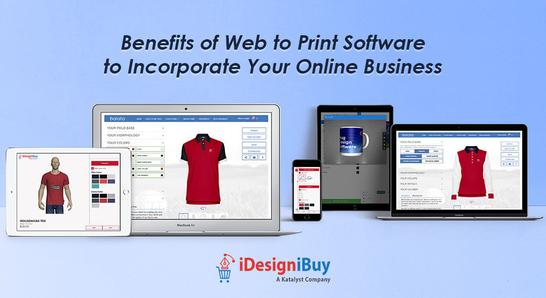 Beneficial aspects of web to print software for printers