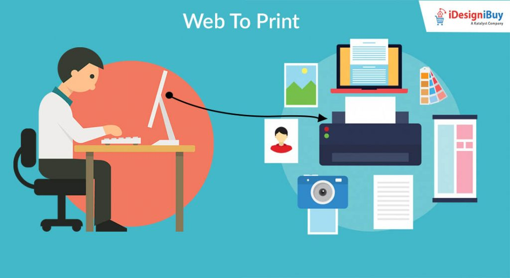 Web to print software solutions