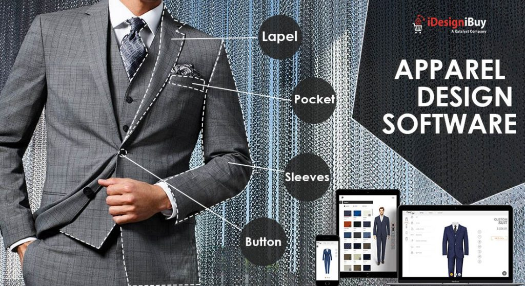 Design and offer customized apparel with clothing design software