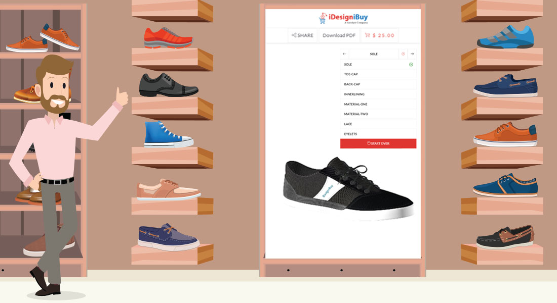 Integrate Shoe Design Software to Store to Bring Shopping Revolution