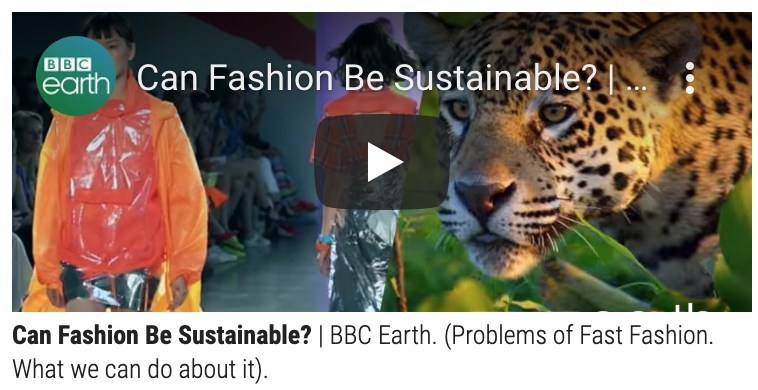 Educating the Consumer on Sustainable Fashion with Videos, News & Trends