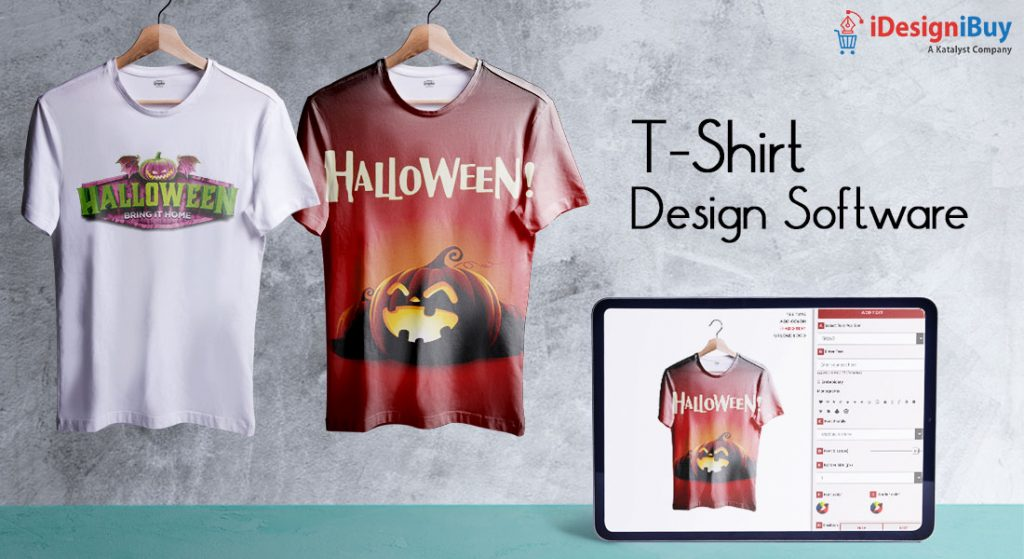 Offer customized t-shirts this Halloween season with T-shirt design Software