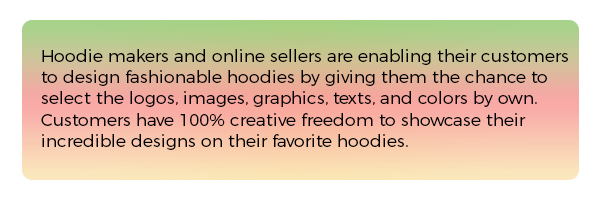 Hoodie Design Software Callout