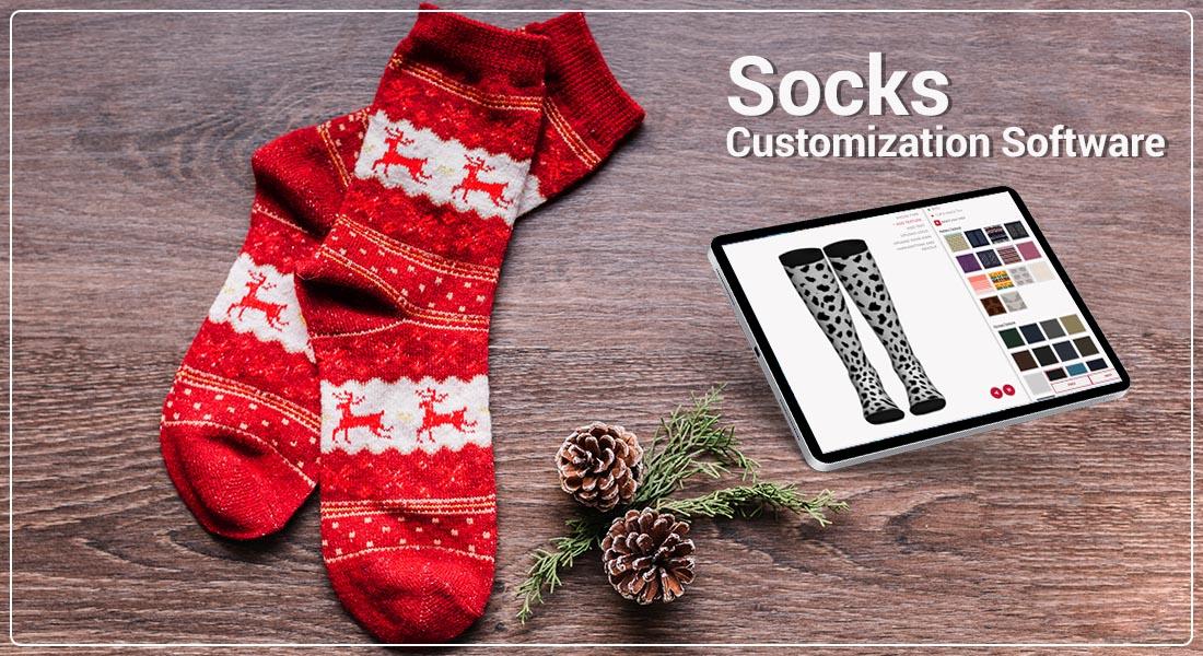 Customize socks online with Socks Customization Software