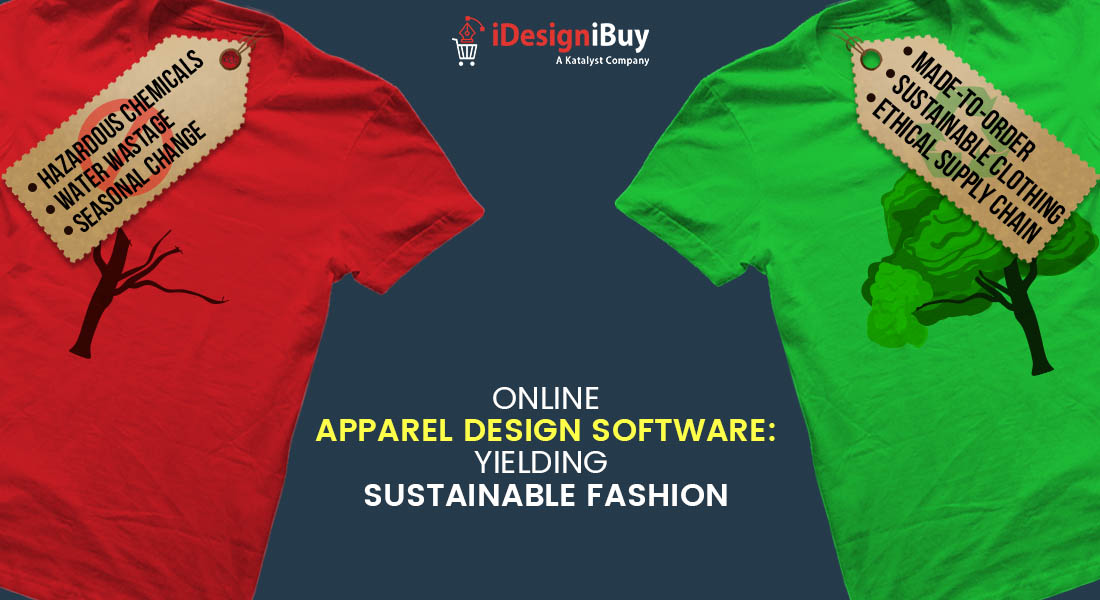 How Online Apparel Design Software Tackles Environment Problems?