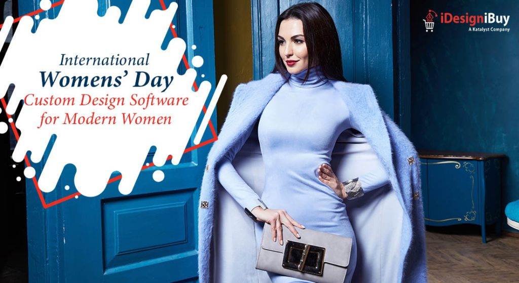 International Womens' Day Custom Design Software for Modern Women
