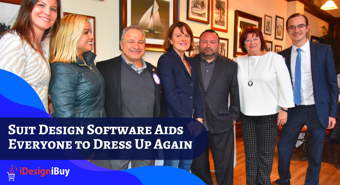 Suit Design Software Aids Everyone to Dress Up Again