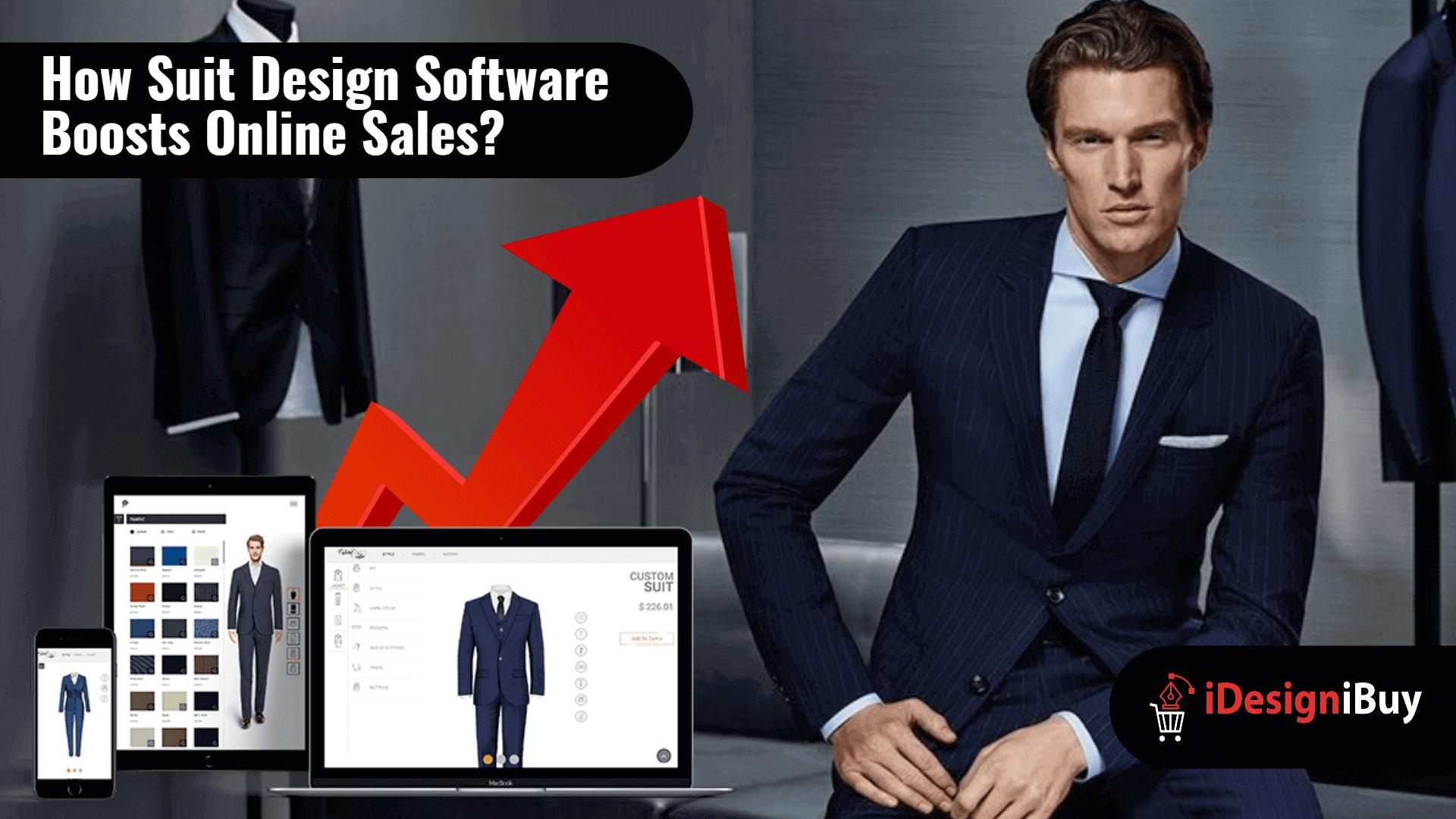 How Suit Design Software Boosts Online Sales?