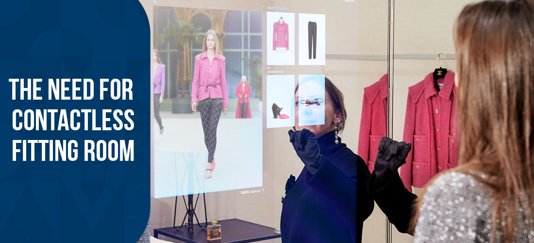 The need for Contactless Fitting Room