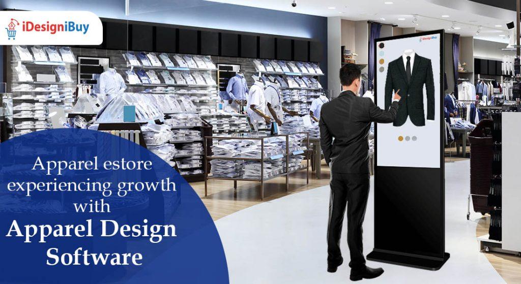 Apparel estore experiencing growth with Apparel Design Software