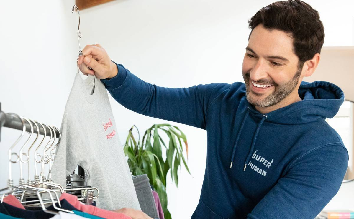 Rupert and Buckley Taps Actor Tom Ellis for Charity Collection