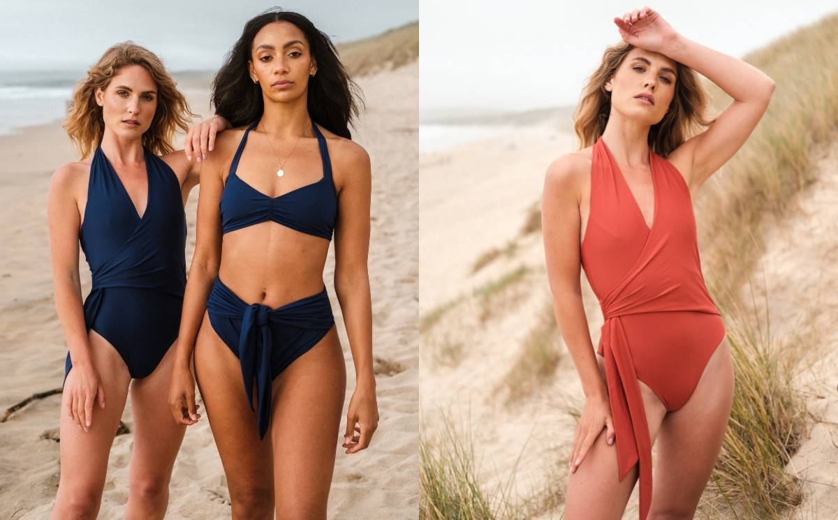 Sustainable swimwear brand F and Wild launches