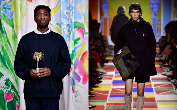 British Designer Ifeanyi Okwuadi Wins Top Prize at Hyères Fashion Festival