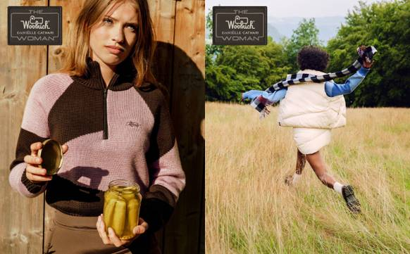 Daniëlle Cathari Unveils Debut Collaboration with Woolrich